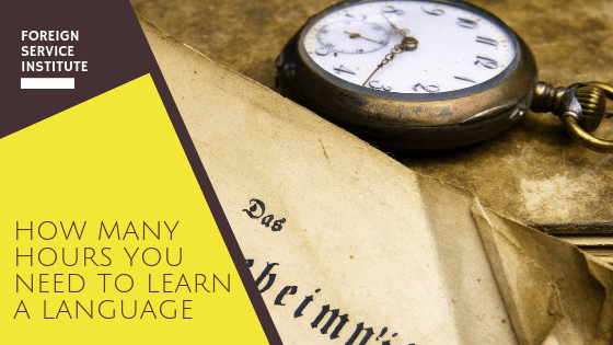 Here's Exactly How many hours You Need to learn a language