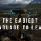 What is the easiest language to learn?