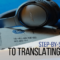 Translate songs: step-by-step guide to learning with music
