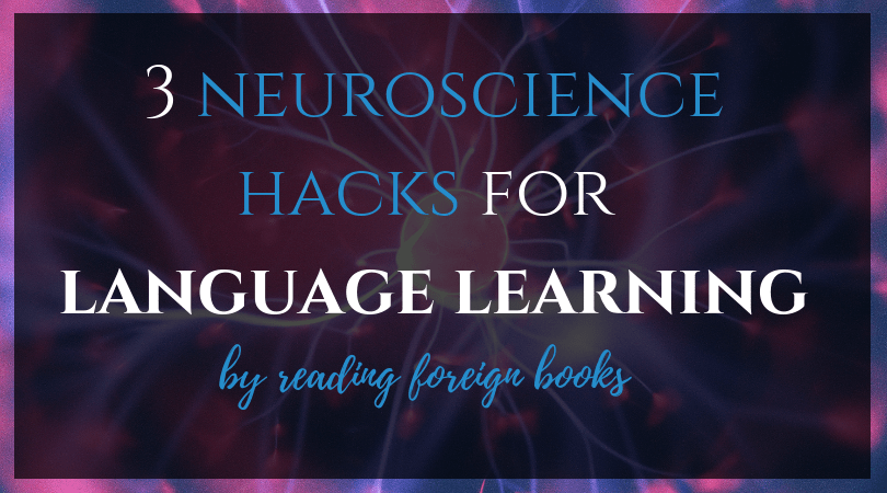 Reading in a foreign language is more effective these these brain tricks