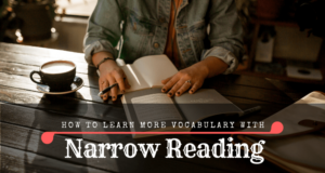 Narrow reading and language learning: winning combo