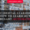 Incidental Learning: How to learn vocabulary automatically