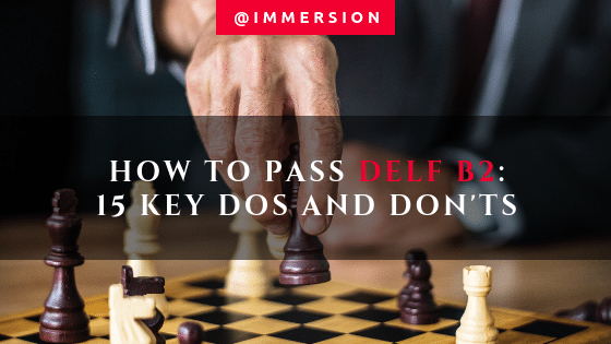 Photo by rawpixel on Unsplash. How to pass DELF B2