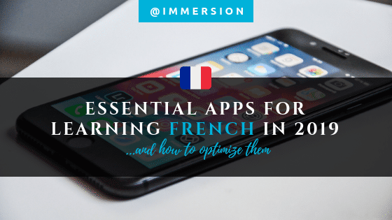Use best apps for learning French this year
