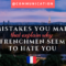 5 French Mistakes That Explain Why Frenchmen Hate You