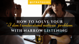Narrow listening: the ultimate way to solve your listening comprehension problem