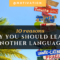 10 Reasons Why You Should Learn Another Language