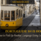 Portuguese In 15 Hours: Pick Up Another Language Using Lexical Similarity
